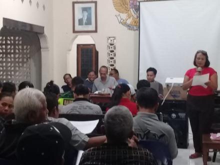 Loka Karya Penyusunan RKP Desa Sinabun Tahun 2020