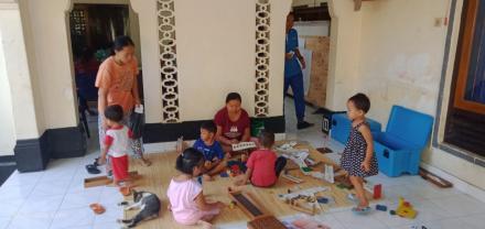 Pelaksanaa Posyandu Banjar Dinas Jero Desa Sinabun