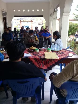 musyawarah penetapan RPJM Desa Periode 2020- 2025 dan  MUSDES  Penyususnan RKP tahun 2021