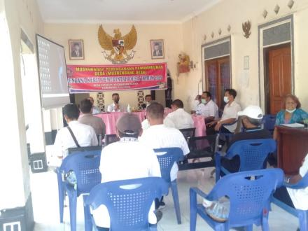 Musrenbangdes Penyusunan RKP Desa Sinabun Tahun 2022